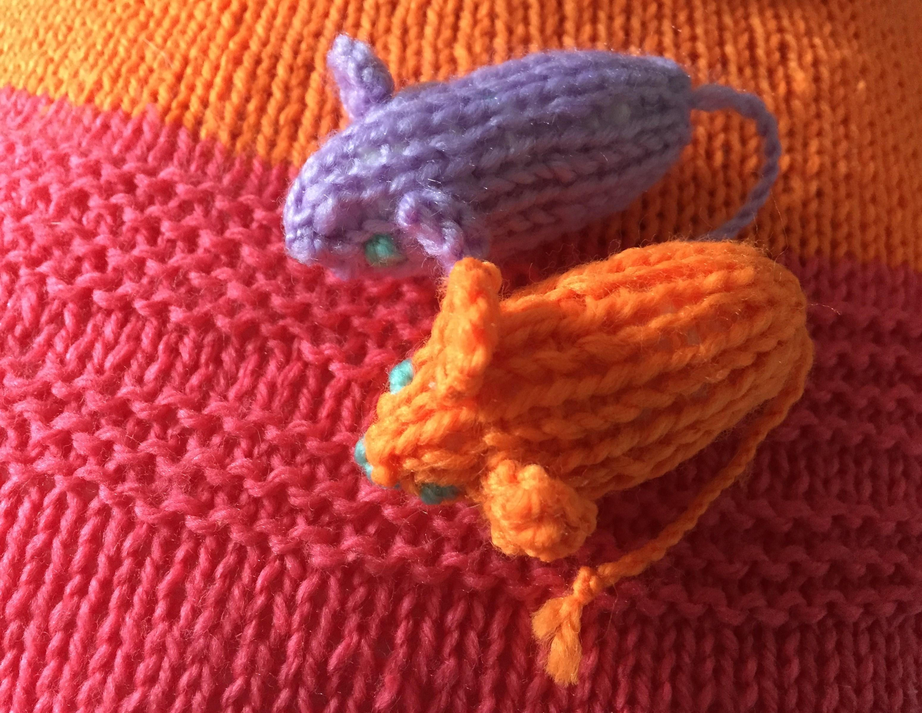 Little woollen mice!