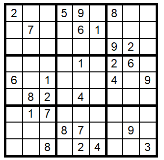 Sudoku – to help you procrastinate!