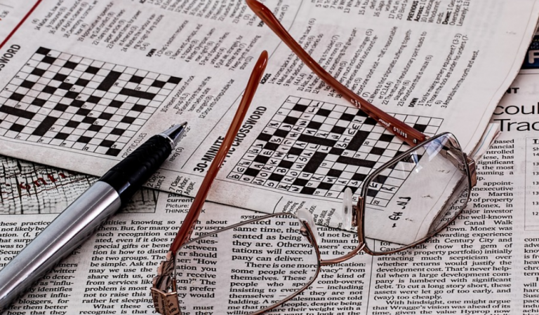 Crossword – to distract you from that TMA!