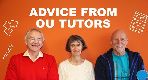 3 OU tutors share their advice for new OU students