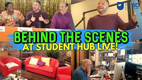 Student Hub Live – Behind The Scenes