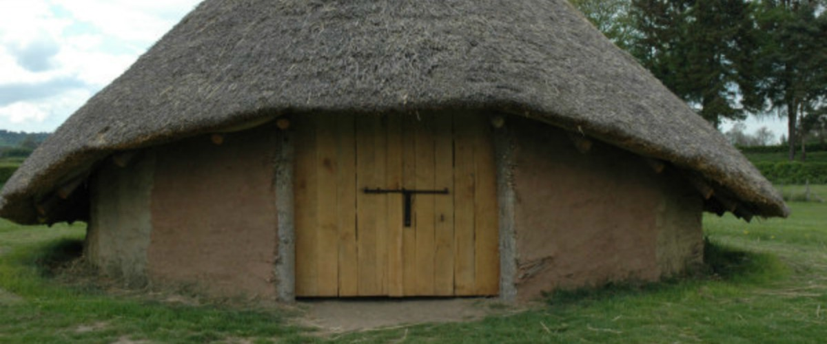 Image result for picture of roundhouse iron age