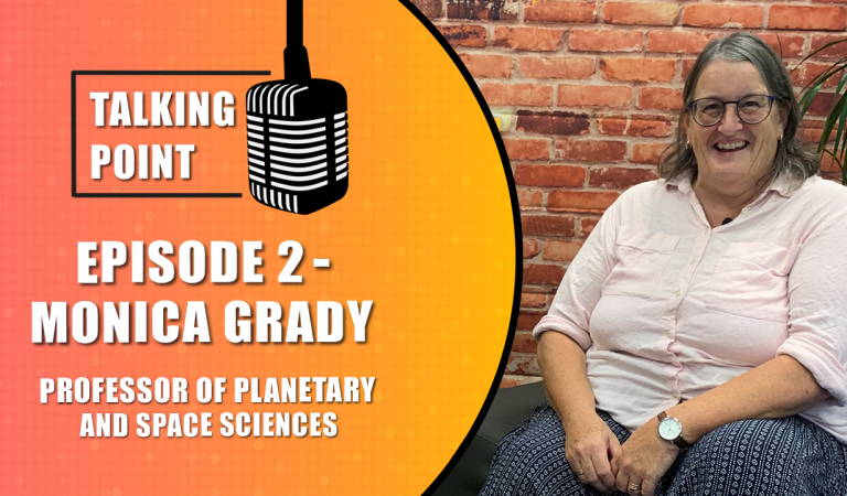 """We need more women in STEM"" – Talking Point: Episode 2 – Monica Grady"